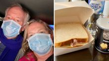 TV chef hits out at 'disgusting' food in hotel quarantine
