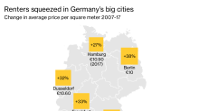 Merkel Faces Heat in Hesse Vote as Housing Anger Boils Over