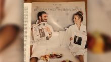 Hotel forced to apologise for 'sexist' ad of couple enjoying breakfast in bed