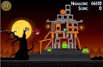 Scare up some fun with Angry Birds Halloween