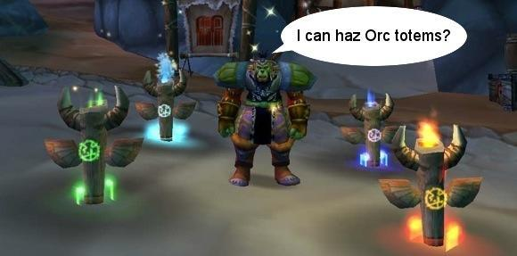 Patch 3.3 PTR: Dwarf, orc, and troll shaman totem gallery