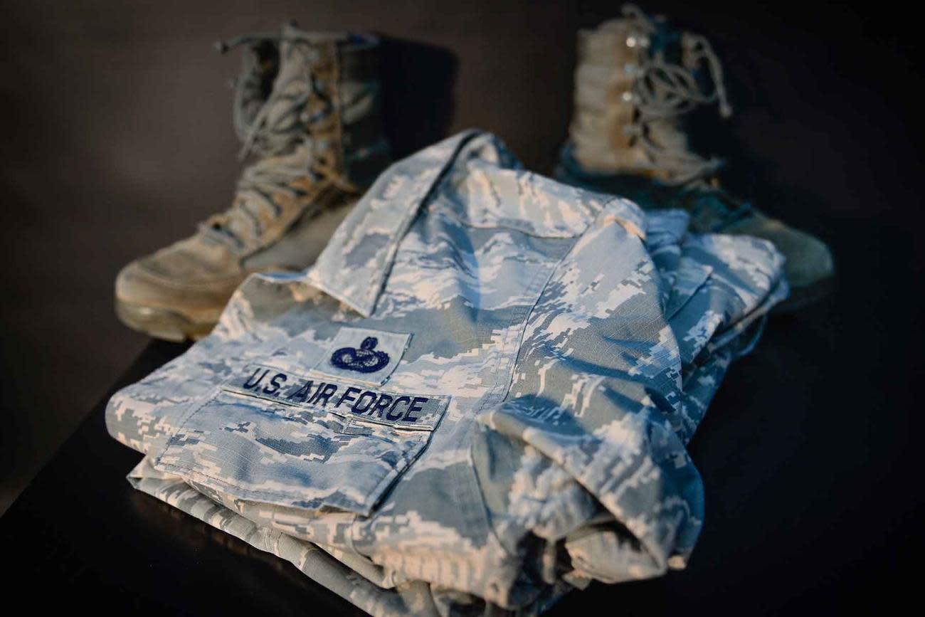 Master Sergeant Gives Hated Air Force Tiger Stripe Uniform a Memorable Sendoff