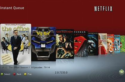 New Xbox Experience's Video Marketplace and Netflix previewed