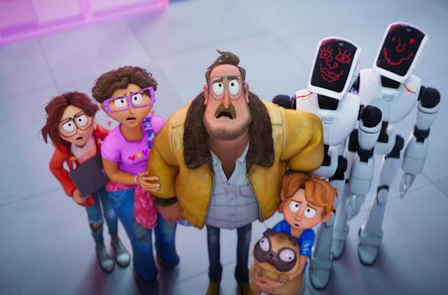 Netflix's animated film 'The Mitchells vs. The Machines' arrives April 30th