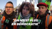 Macron leur suggère d'essayer la dictature, ces manifestants lui répondent