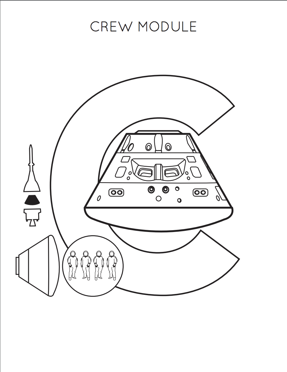 Orion Activities and Coloring Sheets For Kids | NASA | 1254x968