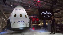 SpaceX to send first space tourists around moon next year