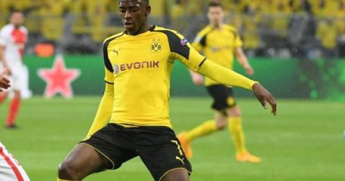 Foot - C1 - Vidéo : Ousmane Dembélé (Dortmund) réduit le score contre Monaco
