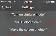 iOS 7 video tip: Using Siri to change or check settings on your device
