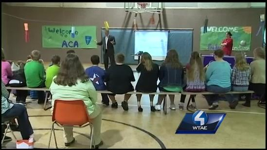 Weather Watch 4 School Visit: Armbrust Wesleyan Christian Academy