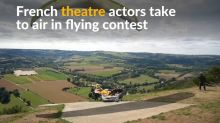 Paragliders combine theatre for upcoming flying competition