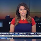Crash report on Boeing 737 Max Jets