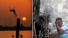 'Catastrophic' power loss as country nears 50C heatwave