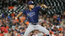 Chris Archer's feud with Astros' mascot escalates to water balloon fight