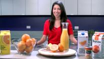 The healthiest orange juice