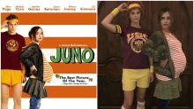 Halloween: Jessica Alba recrea el icónico póster de 'Juno'