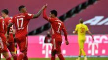 Last-gasp winner caps fightback as Leipzig keep pace with Bayern