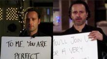 Andrew Lincoln nos llena de nostalgia con el teaser de 'Love Actually 2'