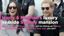 Prince Harry and Meghan Markle Are Staying in a Multi-Million Dollar Waterfront Mansion