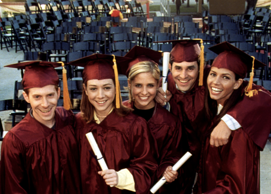 'Buffy the Vampire Slayer,' 20 years later: Alyson Hannigan and Seth Green remember controversial graduation episode