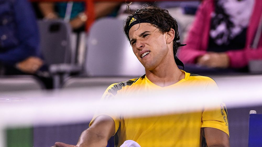 Thiem beaten after wasting four match points, Goffin wins in Montreal
