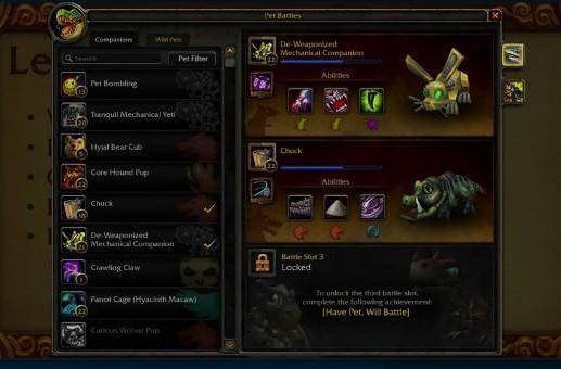 Pet Battle Q&A with Blizzard Devs