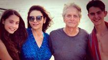 En Mallorca, Michael Douglas, Catherine Zeta Jones y sus hijos disfrutan del verano europeo