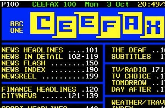 Londoners mourn as teletext goes dark, a victim of the DTV transition