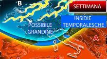 Meteo, clima meno caldo e rischio temporali
