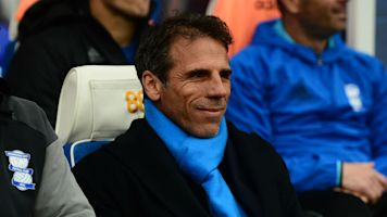 Zola returns to Chelsea as Sarri's assistant