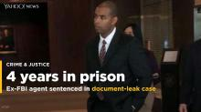 Ex-FBI agent charged with leaking sentenced to 48 months