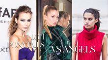 性感、型格、隨性:高馬尾可以塑造的百變形象,就由一眾 Victoria's Secret Angels 為你示範!