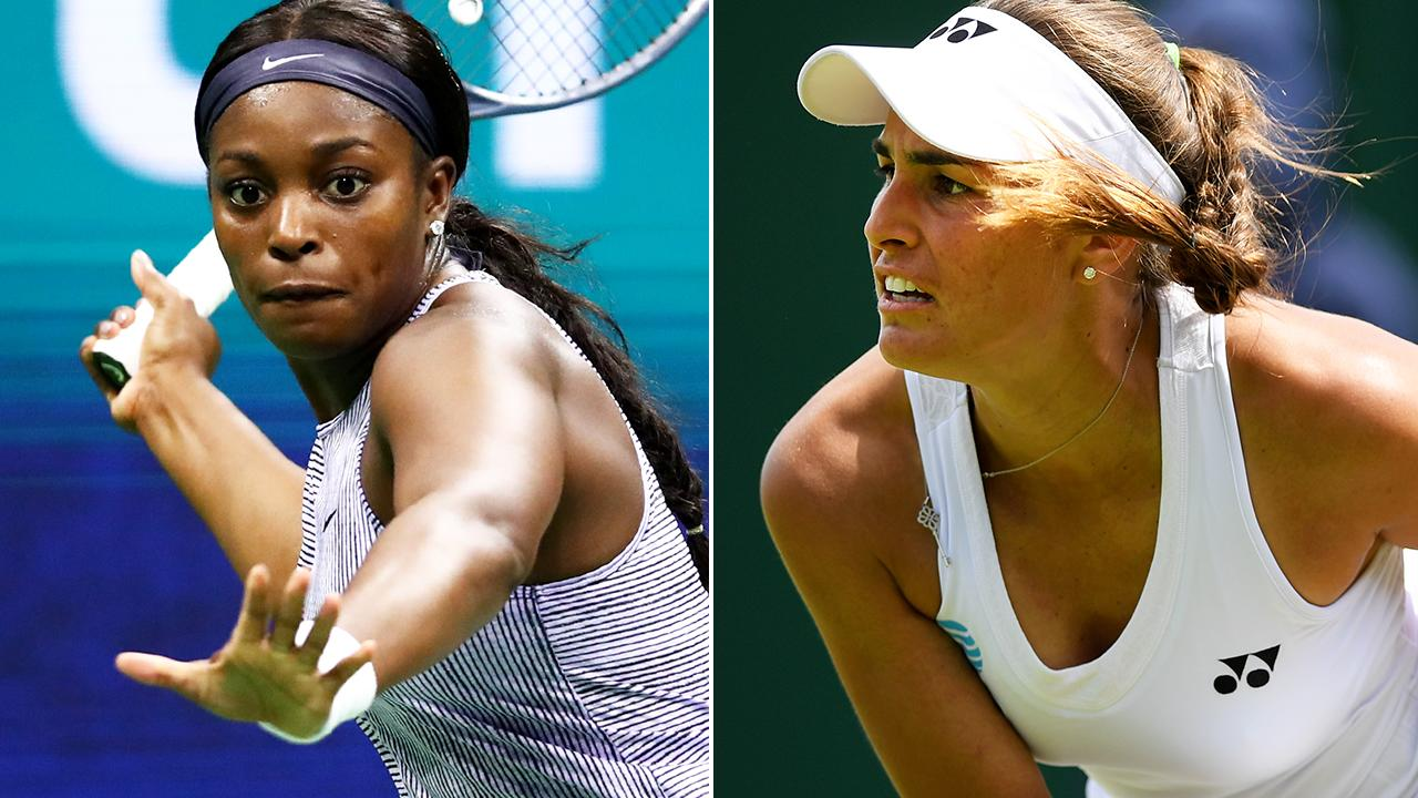 Female stars in US Open spat over 'inappropriate' comments