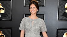 Fans are loving Lana Del Rey's 'last minute' Grammys dress she bought at the mall