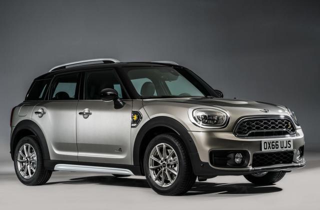 Mini unveils its first hybrid vehicle