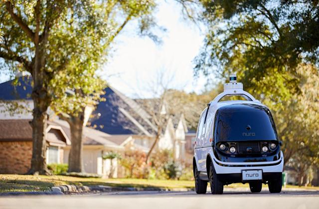 US DOT approves Nuro's next-gen driverless delivery vehicle design