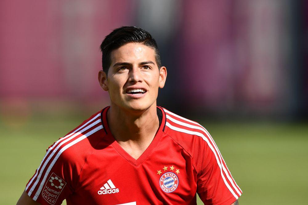 JAMES RODRÍGUEZ: Aplausos para el colombiano del Bayern