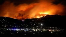 Wildfires rage in Colorado, much cooler temperatures expected East