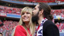 Heidi Klum und Tokio Hotel feiern mit dem FC Bayern im Stadion