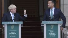 Johnson tells Varadkar a deal on the Irish border can be secured by end of October
