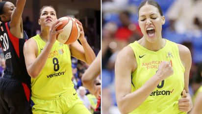 Cambage makes more WNBA history