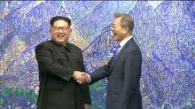 Kim: 'o começo de uma 'nova história'