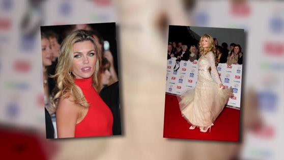 Abbey Clancy Is A Lady In Red At The NTAs