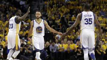 Steph Curry 'proud' of Draymond and KD
