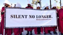 Hollywoods Handmaids: Erste Proteste bei der Oscar-Verleihung