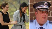 'Confronting scenes': Devastated police officer fights back tears after four kids killed