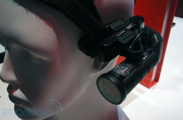 Hands-on with the Motorola Solutions HC1, a modular head-mounted computer