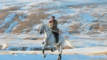 North Korea imported purebred horses from Russia as Kim Jong Un took snowy ride