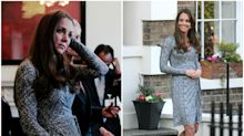 13 looks premamá que querrás copiarle a Kate Middleton