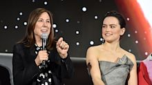 Lucasfilm boss Kathleen Kennedy says a 'Star Wars' film will 'absolutely' be directed by a female director soon
